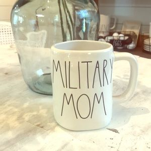 "Never Used Rae Dunn ""Military Mom"" mug"